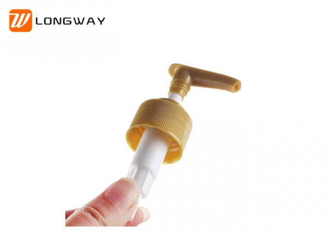 Fancy Plastic Lotion Dispenser Pump For Cream Lotion Packaging Any Color Optional
