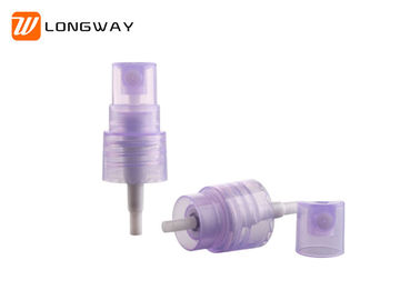 China Multi Colored Cosmetic Mist Sprayers , 18/410 Purple Atomiser Spray Non Spill factory