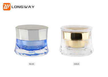 China 50g Acrylic Cream Jar Skirt Shaped , Luxurious Empty Skin Care Containers distributor