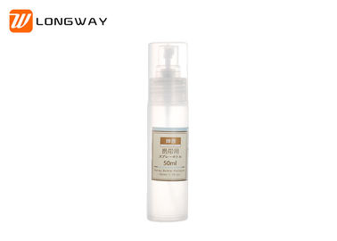 China Round Transparent Plastic Cosmetic Bottles 100ml With Lotion Pump Eco Friendly distributor