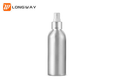 China Matte Silver Aluminum Empty Fine Mist Spray Bottles Refillable Anti Fall 30ml - 250ml factory