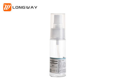 China 30ml 50ml 100ml Liquid Cosmetic PETG Bottle Transparent Round Type No Leaking distributor